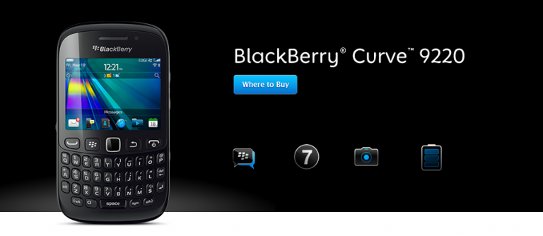 Firmware Blackberry Curve Davis 9220