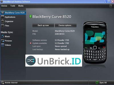 How To Flashing Installing Blackberry Firmware