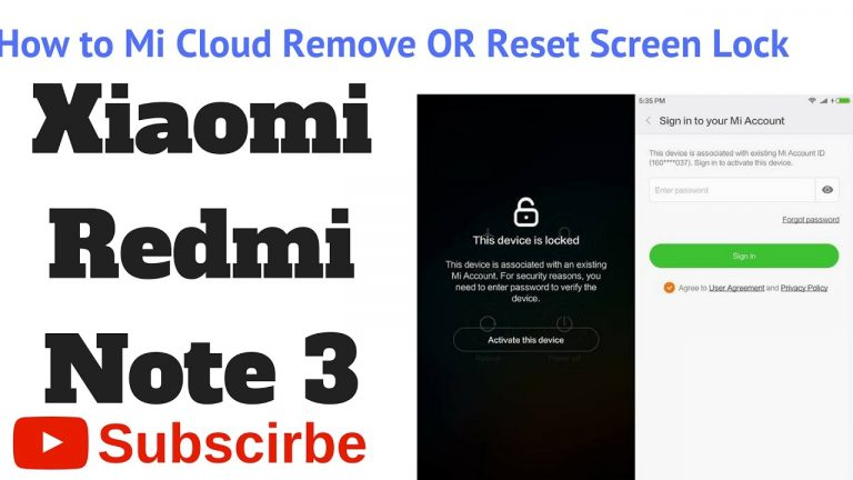 Free Tool Unlock Mi Cloud Bypass Mi Account